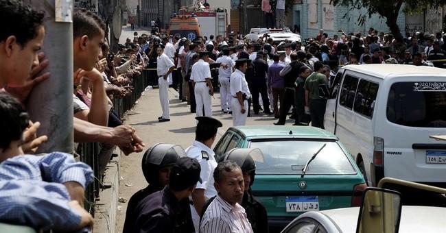 Roadside bomb kills 2 policemen in Egypt's capital