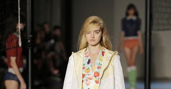Fashion-fearless Klum takes on Milan
