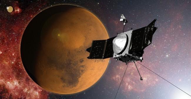 NASA's Maven explorer arrives at Mars after a year
