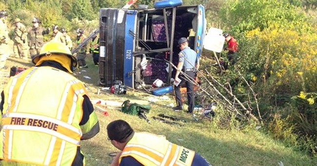 NTSB investigating fatal Delaware bus crash
