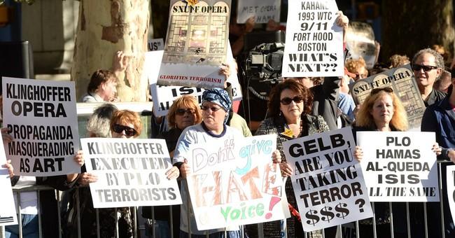 Demonstrators protest Met Opera's 'Klinghoffer'