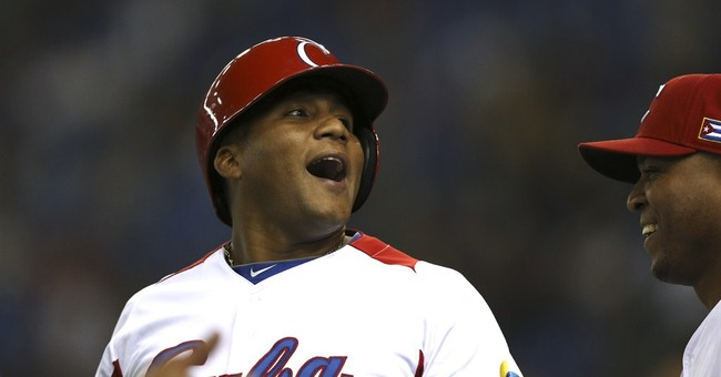 Cuban baseball opening runs into trouble