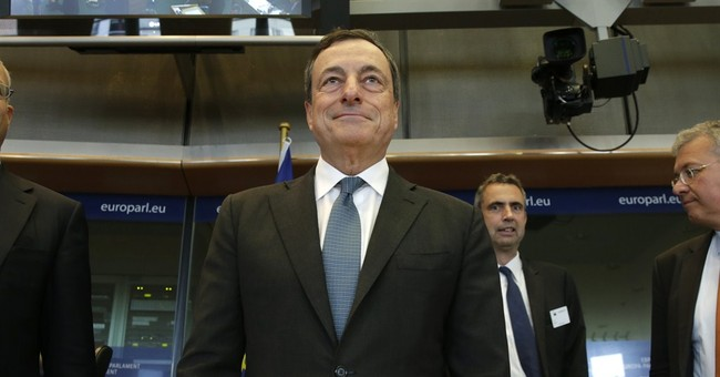 Draghi: Euro recovery losing momentum