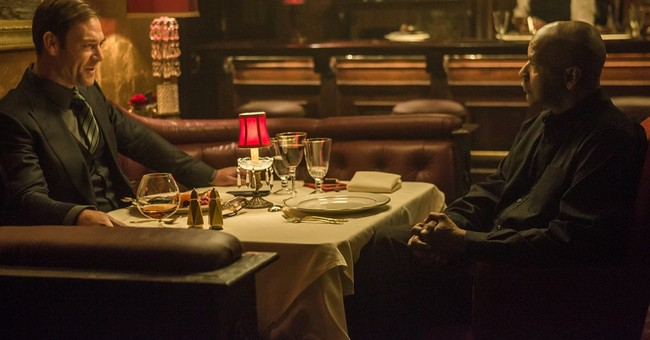 Review: Solid Washington in mediocre 'Equalizer'