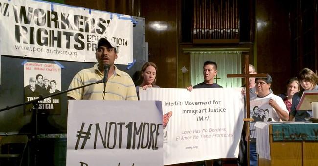Portland immigrant takes sanctuary at church