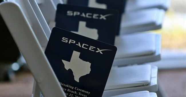 SpaceX breaks ground on Texas rocket launch site