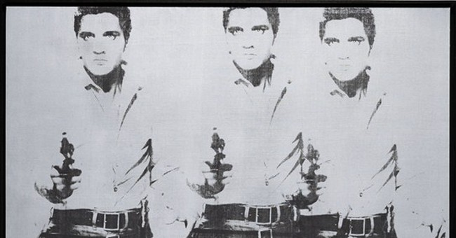 Rare Warhol paintings headed to NYC auction