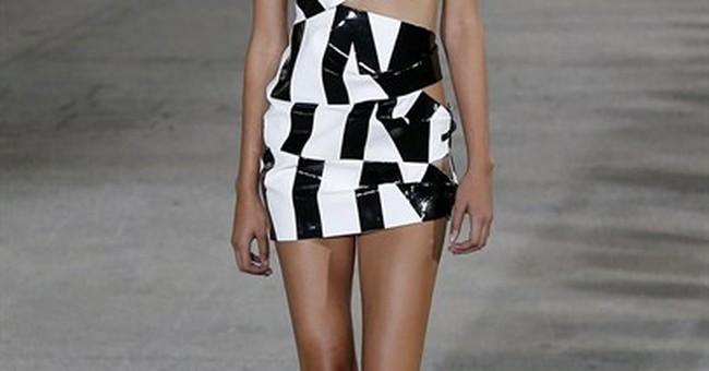 Nearly-cooked models start Paris Fashion Week