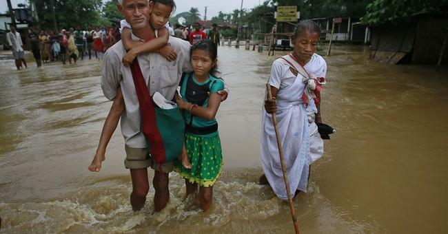 28 dead in landslides, floods in northeast India