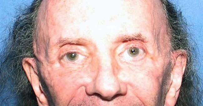 Pictures shows aging, bald imprisoned music legend