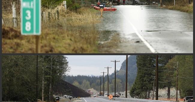 Traffic resumes on highway hit by deadly landslide