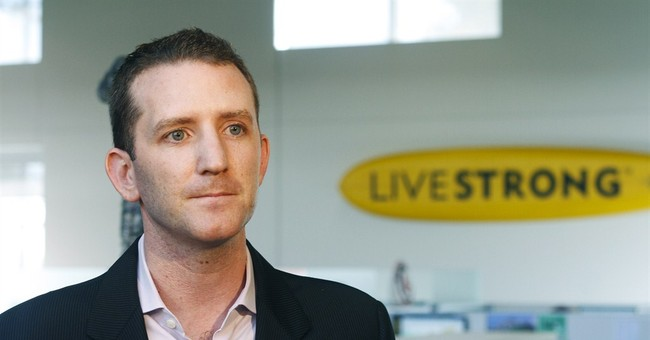 APNewsBreak: Livestrong CEO leaving after 14 years