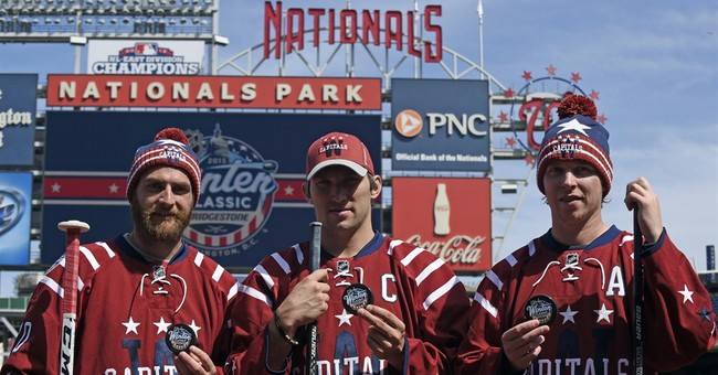 Ovechkin, Capitals unveil Winter Classic uniforms