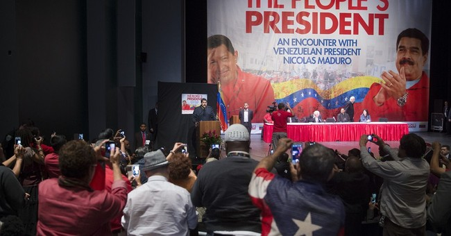 Venezuelan president follows Chavez's NY footsteps