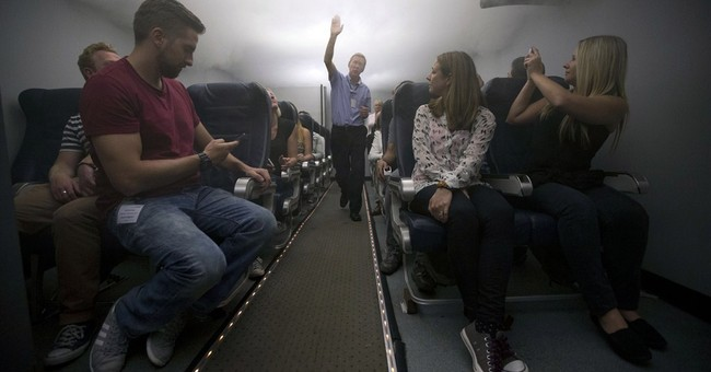 Learning how to survive a plane crash