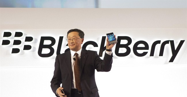 Struggling BlackBerry releases new phone