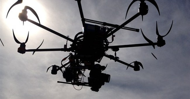 Correction: Movie Drones story