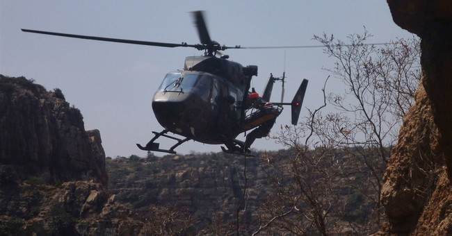 South Africa: Rescuers amputate leg to save man