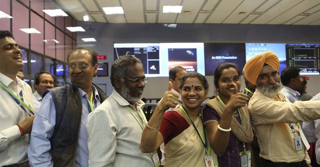 India successfully puts spacecraft in Mars' orbit