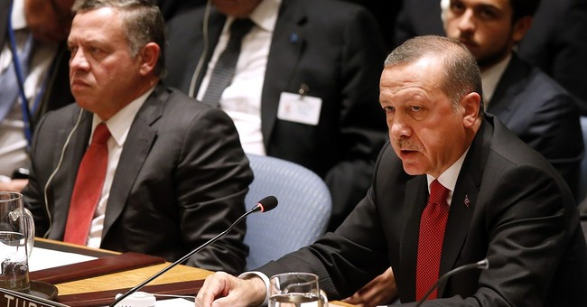 Turkish leader says world not doing enough
