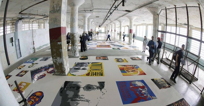 Alcatraz exhibit is tribute to political prisoners