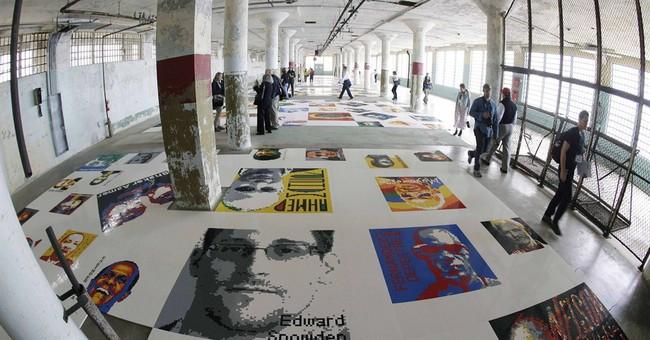 Alcatraz exhibit is tribute to political prisoners