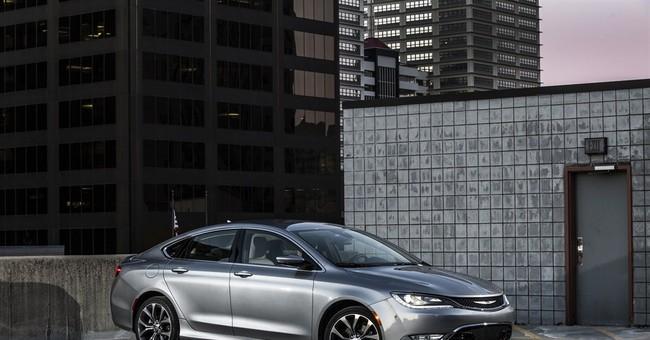 Chrysler's mid-size sedan becomes stylish