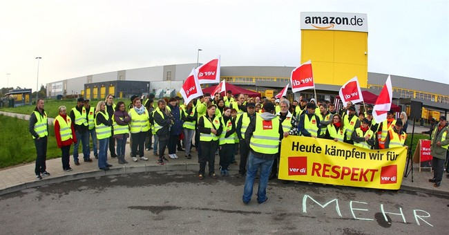 Amazon workers in Germany extend strike