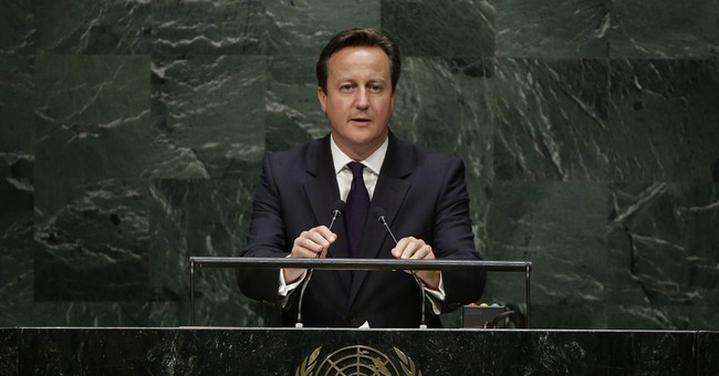 Cameron wants UK to join in airstrikes in Iraq