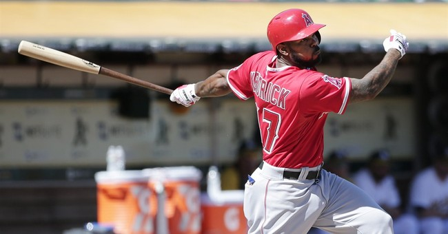 AL West champ Angels hold off playoff-hopeful A's
