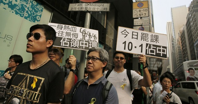 Activists make plan for Hong Kong democracy sit-in