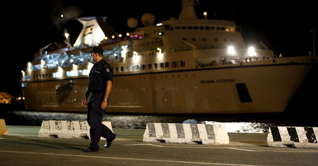 345 rescued people refuse to leave Cypriot ship