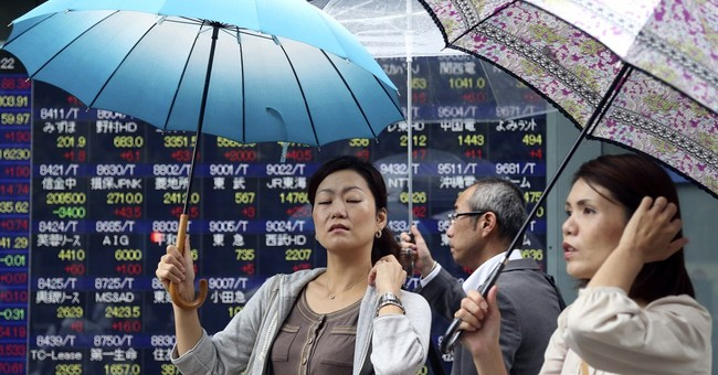 Asia stocks down after Wall Street stumbles