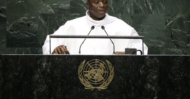 Gambia leader wants UN probe of migrant deaths