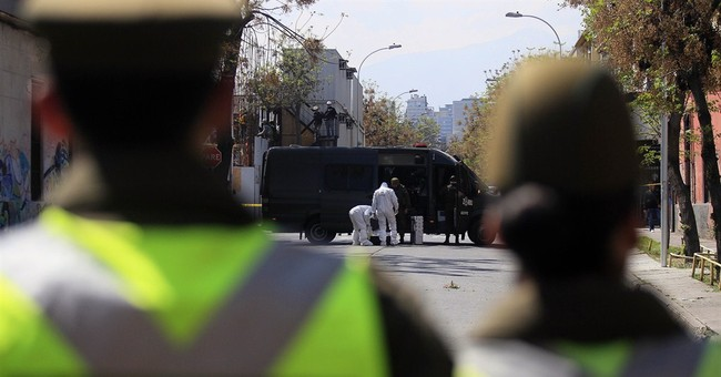 Chilean officials say man dies in bomb blast