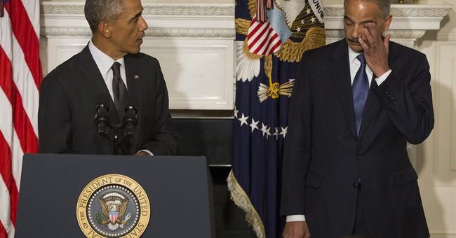 Obama accepts Holder resignation, praises record