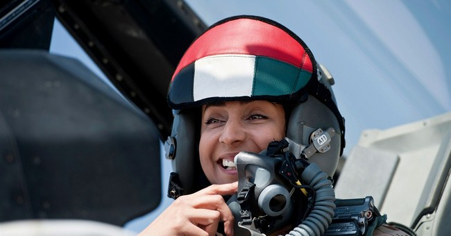 UAE's 1st female fighter pilot carried out strikes