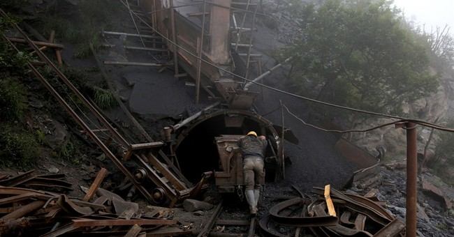 AP PHOTOS: Scenes of toil from Iran's coal mines