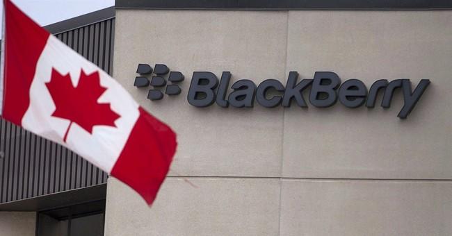 BlackBerry posts smaller $207M quarterly loss
