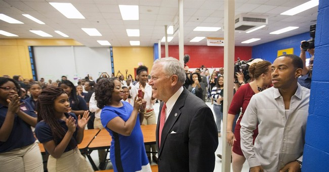 With rap star, Georgia gov. taps unlikely partner