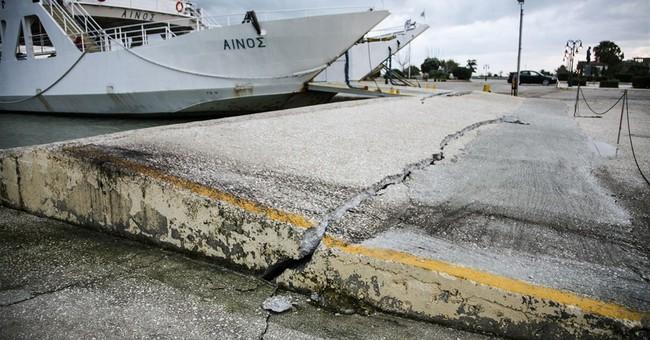 Greece: Emergency declared on quake-hit island