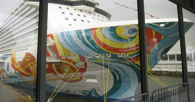 New Norwegian Getaway ship visiting NYC this week