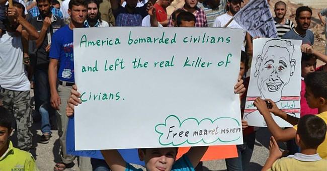 US struggles to blunt Syria rebel anger at strikes