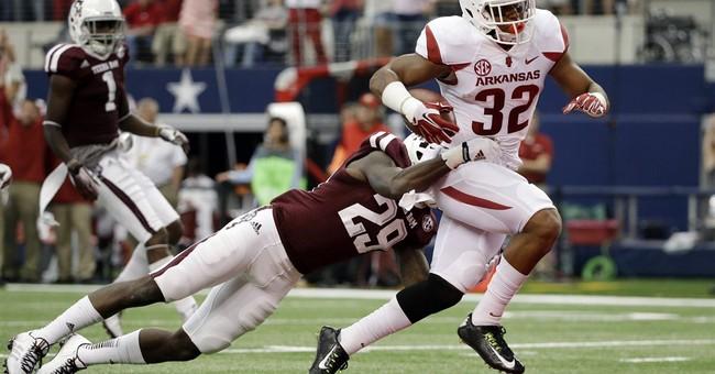 Arkansas' Williams uses hardships as motivation