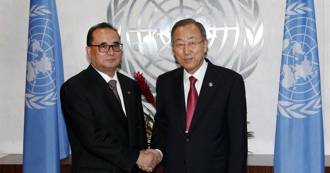NKorea tells UN it's ready to discuss human rights