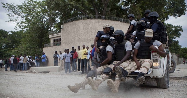 Police posted at home of former Haiti president
