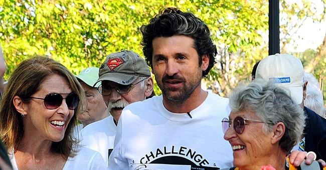 Dempsey's 'challenge' raises more than $1.1M