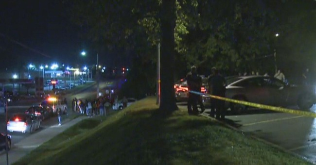 Police: Ferguson officer shot; 2 suspects wanted