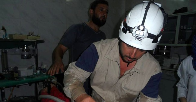 Syrian rescuer, on a break, recalls horror of war