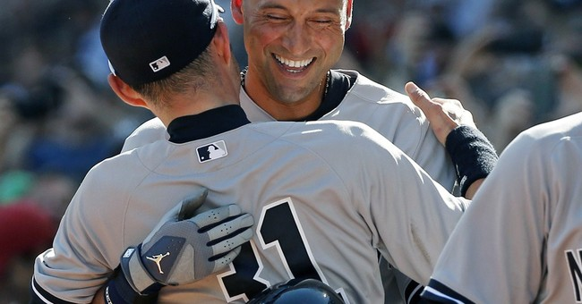 Derek Jeter has RBI single in last at-bat